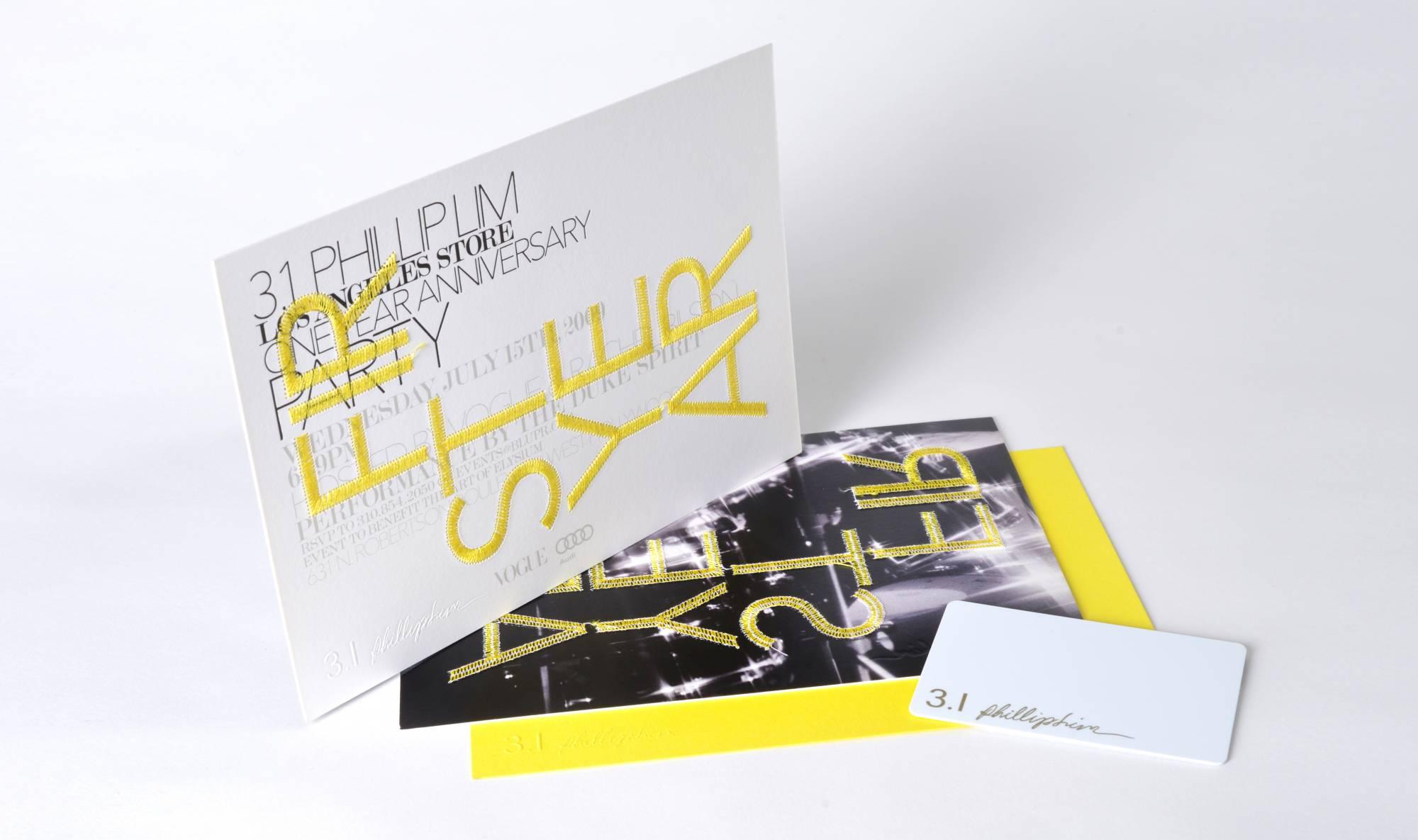 Roxane Zargham 3 1 Phillip Lim Invitation Design La Store Anniversary